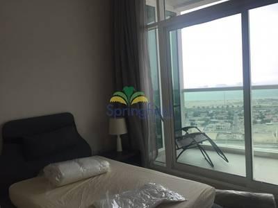 شقة 1 غرفة نوم للايجار في الصفوح، دبي - On High Floor with Sea View | 4 Cheques