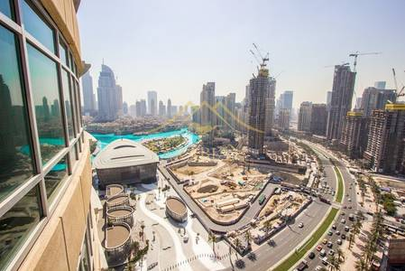 1 Bedroom Apartment for Rent in Downtown Dubai, Dubai - Unfurnished and lovely 1 bedroom in lofts west High Floor