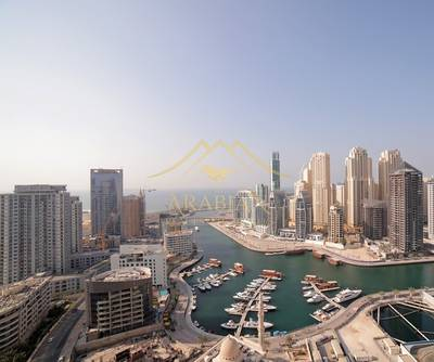 1 Bedroom Flat for Sale in Dubai Marina, Dubai - Higher Floor Fully Furnished Spacious 1 Bed in Escan Tower