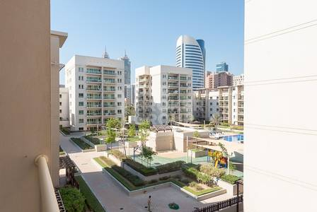 1 Bedroom Apartment for Sale in The Greens, Dubai - VACANT |Large 1 BR Apt |Partial Pool View