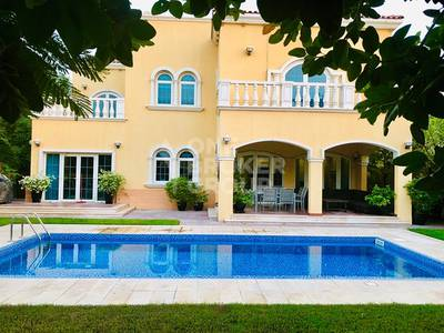 5 Bedroom Villa for Rent in Jumeirah Park, Dubai - Best location 5 BR Legacy landscaped garden