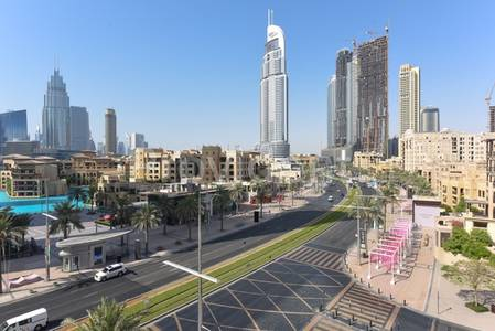 3 Bedroom Apartment for Sale in Old Town, Dubai - Top Floor|Partial Burj and Fountain view
