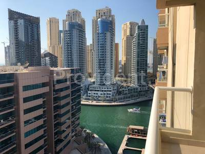 1 Bedroom Flat for Rent in Dubai Marina, Dubai - Higher Floor| Marina view | Chiller Free
