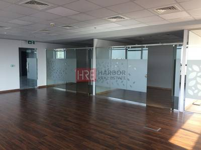 Office for Rent in The Greens, Dubai - Newly Fitted Office - Detailed Layout - Spacious Office