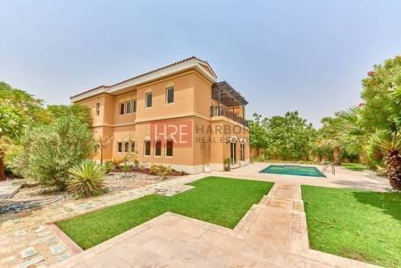 6 Bedroom Villa for Sale in The Villa, Dubai - Highly Upgraded 6BR  Mazaya villa,  Park Facing