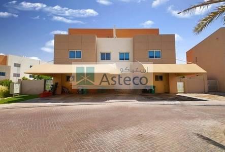 2 Bedroom Villa for Sale in Al Reef, Abu Dhabi - 2BR Single Row in Contenmporay village for sale !