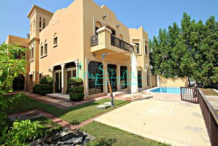 5 Bedroom Villa for Rent in Palm Jumeirah, Dubai - STUNNING 5BR GARDEN HOME VILLA IN FROND F