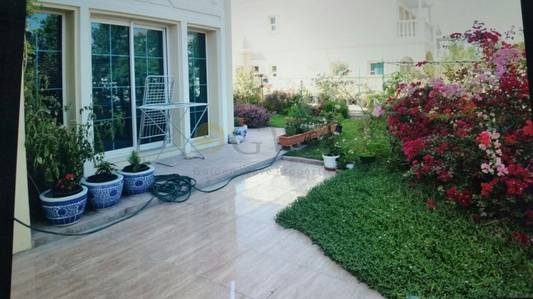 2 Bedroom Villa for Sale in Jumeirah Village Triangle (JVT), Dubai - Vacant on transfer.Beautiful landscaping