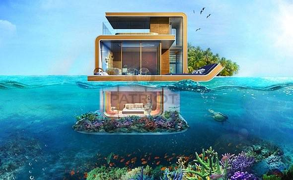 8% Guaranteed ROI for 10 Years Floating Sea House Villa