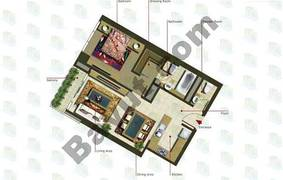 1 Bedroom (Type 2)