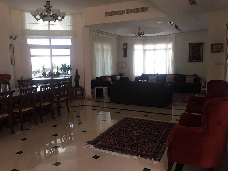 Unfurnished Luxury Villa G 1 for rent in Nad Al Hamar/With Pool