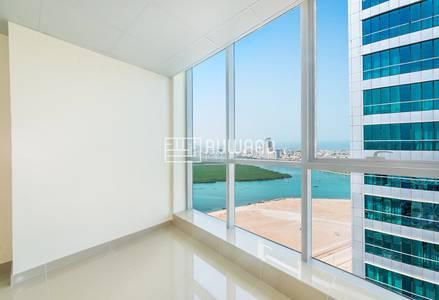 Office for Rent in Dafan Al Nakheel, Ras Al Khaimah - Sea view Office for Rent in Julphar Towers, RAK