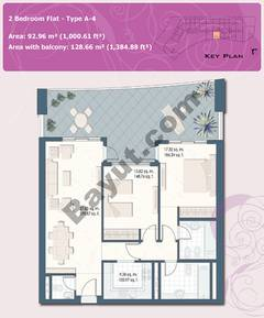 2 Bedroom Flat Type A-4