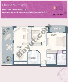 2 Bedroom Flat Type E-2