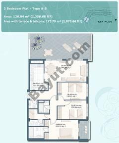 3 Bedroom Flat Type A-5