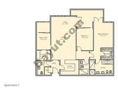 2 Bedroom Apt C Building Type 1
