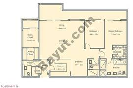 2 Bedroom Apt G Building Type 2