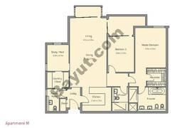 2 Bedroom Apt M Building Type 4