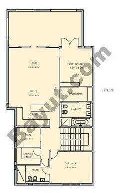 3 Bedroom Apt D Building Type 1 Level 2