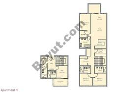 3 Bedroom Apt H Building Type 2