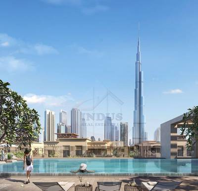 Spectacular Fountain and Burj Khalifa Views