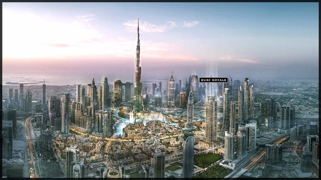 12 Burj Royale | Spectacular Views of Downtown
