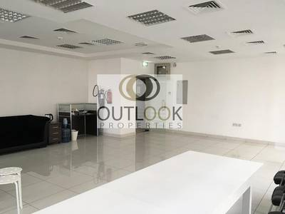 Office for Rent in Al Barsha, Dubai - GLAZED GLASS  OPEN OFFICE SPACE WITHOUT PARTITIONS AVAILABLE FOR RENT IN BARSHA VALLEY