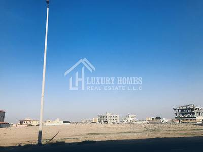 Plot for Sale in China Mall, Ajman - Commercial Two-Sided Plot in Jurf Indurial Area, Ajman