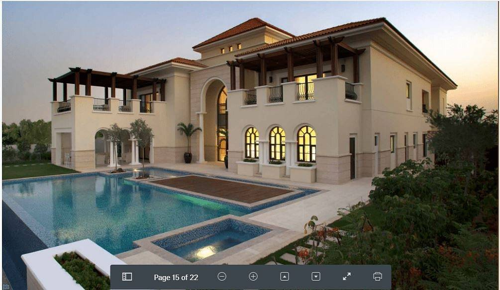 2 Villa in the most beautiful areas of Dubai