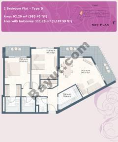 2 Bedroom Flat Type D