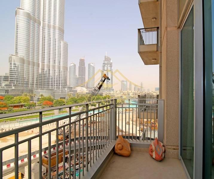 Full Burj Khalifa View Furnished 2 Bedrooms in Standpoint B