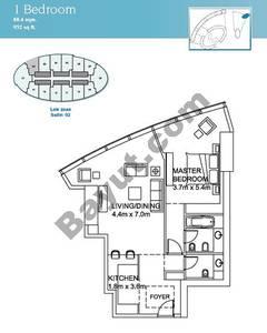 1 Bedroom Suite 2