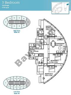 3 Bedroom Suite 6 High Zone