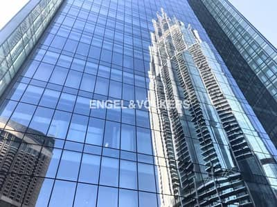 Luxuriously Fitted|Office With Burj View