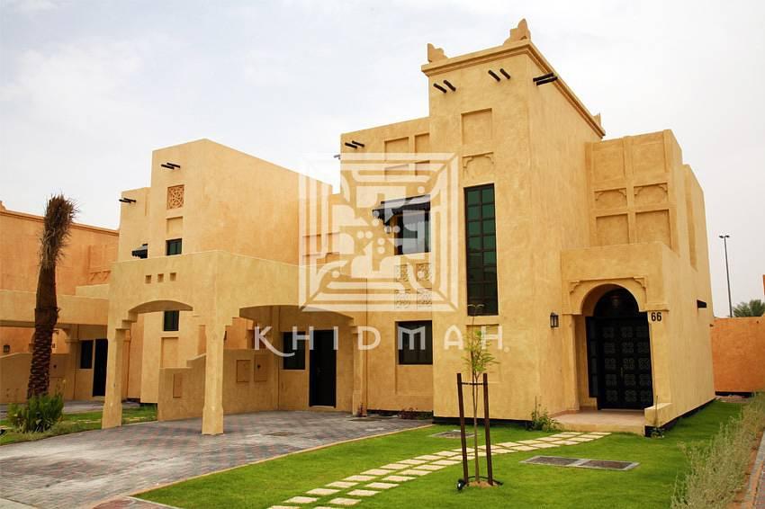 No Leasing Commission! 3-BR Villa for rent in Al Oyoun Village, Al Ain