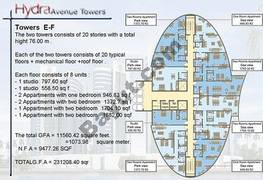 Typical Plan Tower E And F