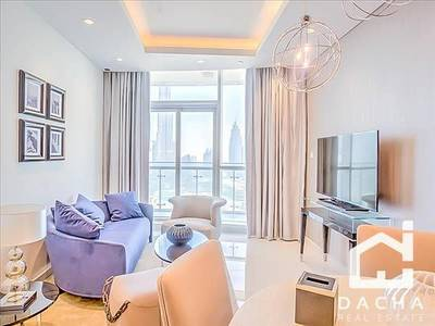 2 Bedroom Apartment for Rent in Downtown Dubai, Dubai - FULL BURJ VIEW / LUXURY FENDI FURNISHED 2BR