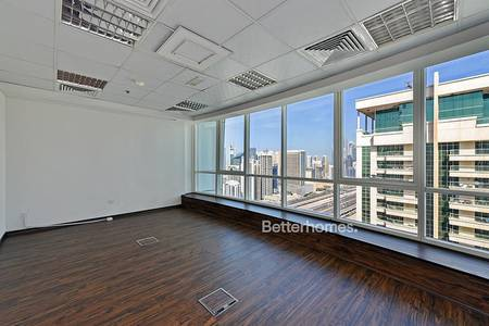 Office for Rent in Jumeirah Lake Towers (JLT), Dubai - Fitted Partitioned - 2 months grace period