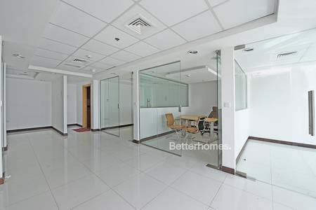 Office for Rent in Jumeirah Lake Towers (JLT), Dubai - Office For Lease | Partitioned | Next to Metro