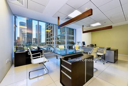 Office for Rent in Jumeirah Lake Towers (JLT), Dubai - Fully Fitted | Furnished | Partitioned