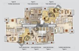 Typical Floorplan, Type A, B, C