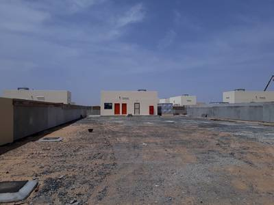 Industrial Land for Rent in Al Saja, Sharjah - 12000 sqft open yard 3 phase power/water office boundary wall in sajaa sharjah