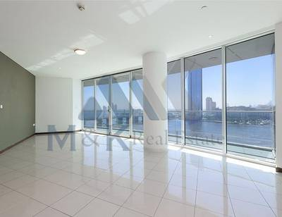 2 Bedroom Apartment for Rent in Dubai Festival City, Dubai - Beautiful 2BR   Creek View   Marsa Plaza
