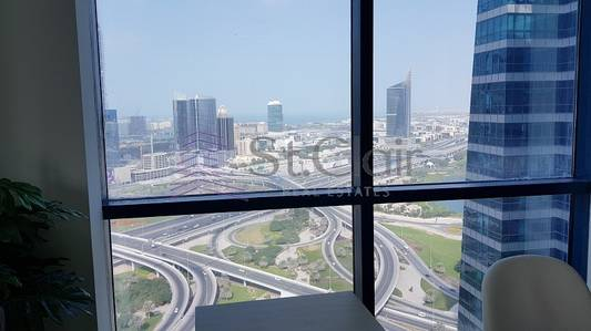 Fully Furnished Office|Mid Floor|Lake View