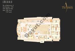 1701 Emerald 17th Floor 4 Bedroom