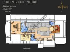 Penthouse 1801-2001 Floor 19th Upper Level