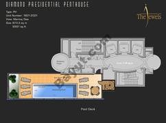 Penthouse 1801-2001 Floor 20th Type PH