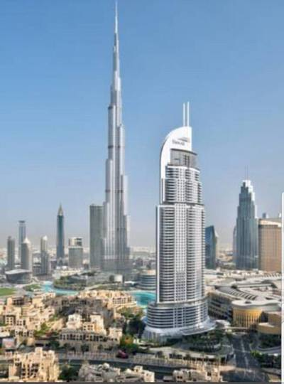 1 Bedroom Hotel Apartment for Sale in Downtown Dubai, Dubai - Swanky 1 bedroom Suite in Hotel Address Downtown
