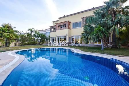 6 Bedroom Villa for Rent in Emirates Hills, Dubai - Lake View | 21.000 sqft plot | Must View