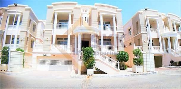 5 Bedroom Villa for Rent in Al Forsan Village, Abu Dhabi - 5+M Br villa with Pvt. Pool in Al forsan